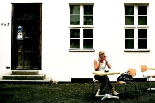 Julia Knolle in den Kunstwerken